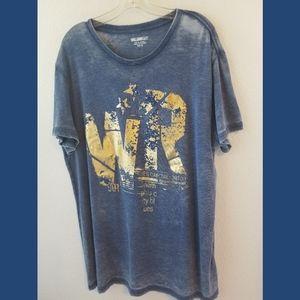 William Rast Blues Capital SS Graphic Tshirt XL
